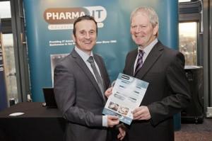 Tom Reilly (Pharma IT) and John Spillane (DBI)