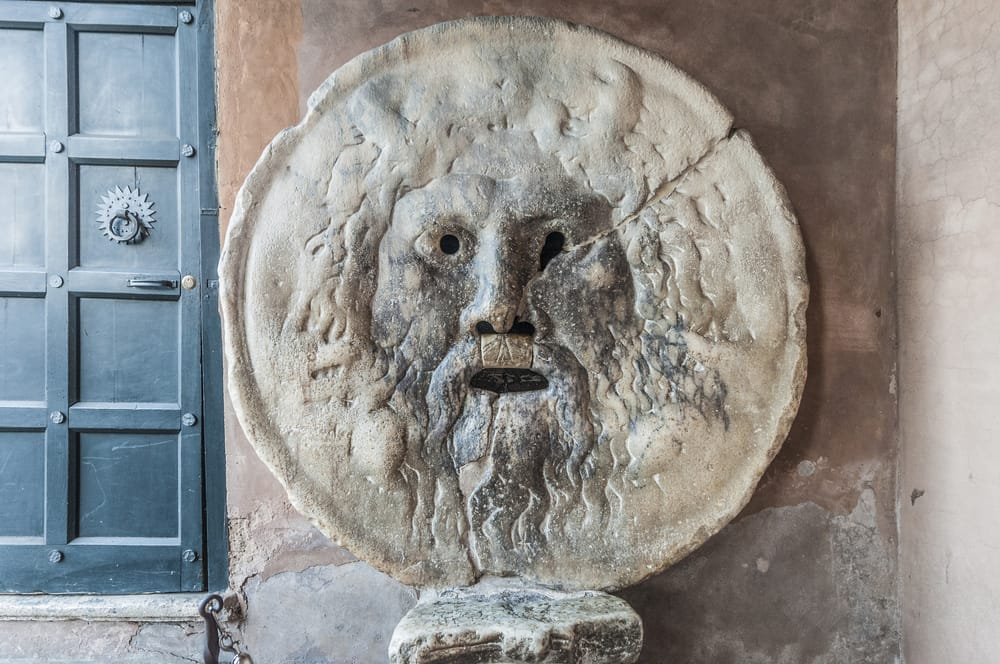 The Truth Stone, Rome.