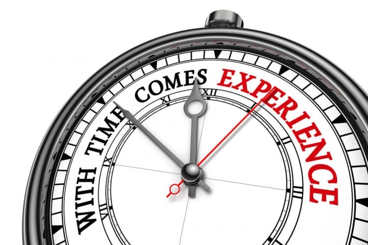 With Time Comes Experience